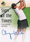 UD 2014 SP AUTHENTIC GOLF AUTOGRAPH CARD Cheyenne Woods / 新宿店 黒羽根様