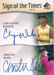 2013 UD SP AUTHENTIC GOLF Autograph Cheyenne Woods & Christie Kerr 渋谷店 きたさん様