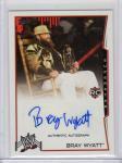TOPPS 14 WWE Rookie Autograph Card B.Wyatt 神田店 ウォーレン・ジヴォン様