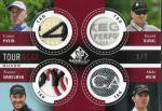 2014 SP Game Used Golf Set Tour Gear Quads Card (Tag) 【2枚限定】 梅田店 マダム★ロビーナ様