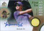 2014 SP GAME USED Michelle WIE AUTO&Shirt 【199枚限定】 札幌店 Y・奉先様