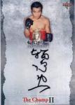 BBM 2014 ボクシングカードセット The Champ � 輪島功一 直筆サインカード 【90枚限定】 池袋店 サイロック様