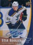 2015-16 Upper Deck NHL Star Rookies Autographs Colton Parayko / 新宿店 荒川悪々様