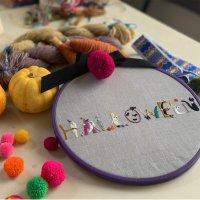 [数量限定]ハロウィンの刺繍図案