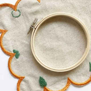 木の刺繍枠(8cm/10cm)