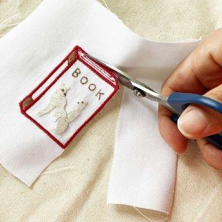 刺繍をプラスして楽しむワッペン(BOOK)
