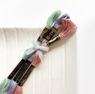 糸3色セット [ennui]曇空の花畑