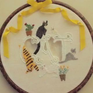 """壁飾り""""CAT"""""""