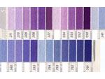 DMC刺繍糸 5番 紫・青色系
