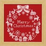 オリムパス 刺繍キット クリスマス