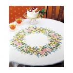 オリムパス 刺繍キット テーブルクロス&センター