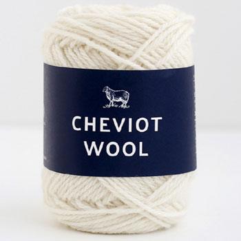 ダルマ毛糸 チェビオットウール