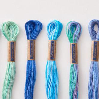 コスモ刺繍糸 Seasons 5000 25番
