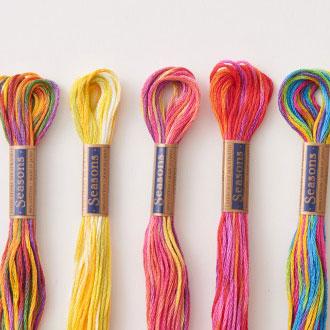 コスモ刺繍糸 Seasons 9000 25番