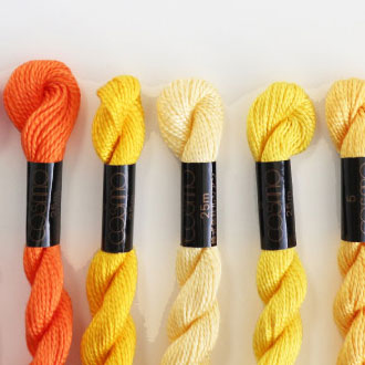 コスモ刺繍糸 5番