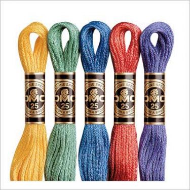 DMC刺繍糸 25番 刺しゅう糸