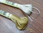 DMC ラメ刺繍糸 25番 金・銀