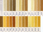 DMC刺繍糸 25番 黄・橙色系