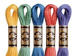 DMC刺繍糸 25番 色見本・色番