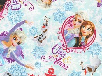 アナと雪の女王 生地