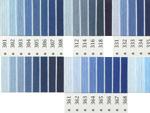 オリムパス刺繍糸 5番 青・水色系