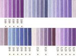 オリムパス刺繍糸 5番 紫色系