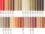 オリムパス刺繍糸 5番 茶・白黒系