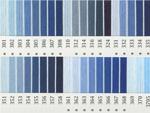 オリムパス刺繍糸 25番 青・水色系