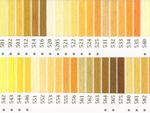 オリムパス刺繍糸 25番 黄色・橙色系