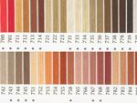 オリムパス刺繍糸 25番 茶・白黒系