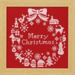 刺繍キット クリスマス
