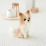 ハマナカ フェルト羊毛キット 犬