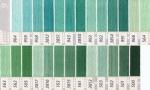 DMC 25番 刺繍糸 緑・黄緑色系