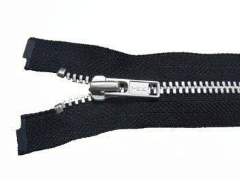 YKK 金属 オープンファスナー 50cm col.580 黒