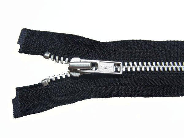 YKK 4YAN 金属 オープンファスナー 60cm col.580 黒 【参考画像1】