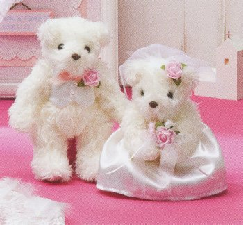 パナミ ウエディングキット 天使のホワイトベア TW-1 ピンク