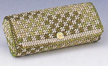 パナミ メタリックヤーンキット メガネケース TC-15 緑