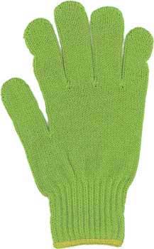カラー手袋 グリーン