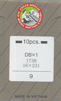 オルガンミシン針 DBx1 #9 薄地用 職業用・工業用ミシン専用
