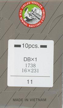 オルガンミシン針 DBx1 #11 普通地用 職業用・工業用ミシン専用