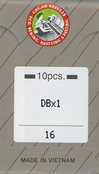 オルガンミシン針 DBx1 #16 厚地用 職業用・工業用ミシン専用