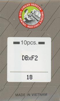 オルガンミシン針 DBxF2 #18 レザー用ミシン針 職業用・工業用ミシン専用