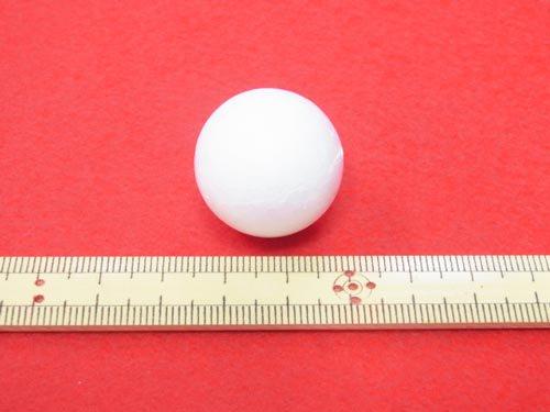 手芸用 スチボール 発泡スチロールボール 25mm 10個入 【参考画像1】