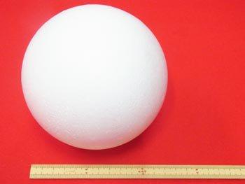 手芸用 スチボール 発泡スチロールボール 125mm 1個入