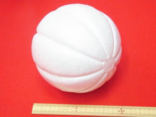 手芸用 木目込型スチボール 発泡スチロールボール 100mm 1個入 【参考画像3】