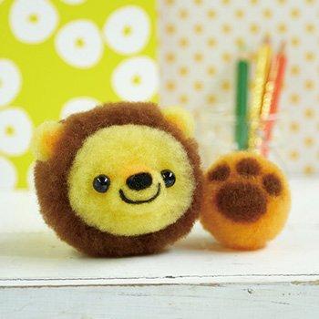 ハマナカ アクレーヌボンボン ライオンくんとおもちゃのボール H441-479