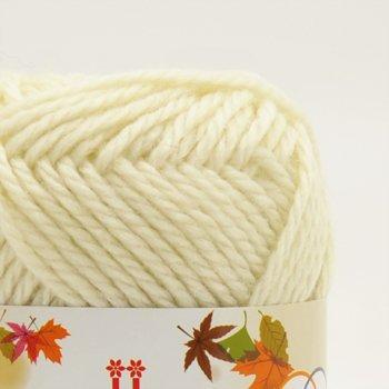 ■廃番■ ハマナカ毛糸 ウォーミィ 1袋5玉入 色番 1