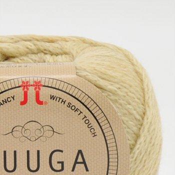 ハマナカ毛糸 フーガ 1袋10玉入 色番 1