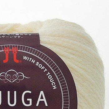 ハマナカ毛糸 フーガ ソロカラー 1袋10玉入 色番 101