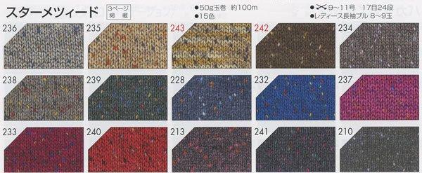 リッチモア毛糸 スターメツィード col.234 【参考画像6】